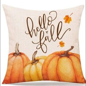 NEW AUTUMN/FALL/THANKSGIVING ACCENT PILLOW COVER